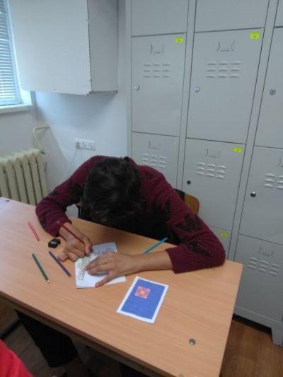 картички за 8 март - ОУ Христо Ботев - Бургас, Победа